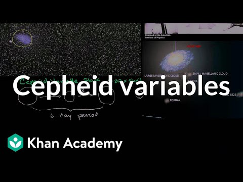 Cepheid variables 1 | Stars, black holes and galaxies | Cosmology & Astronomy | Khan Academy