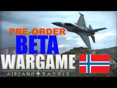 Wargame AirLand Battle BETA! - Norwegian Gameplay