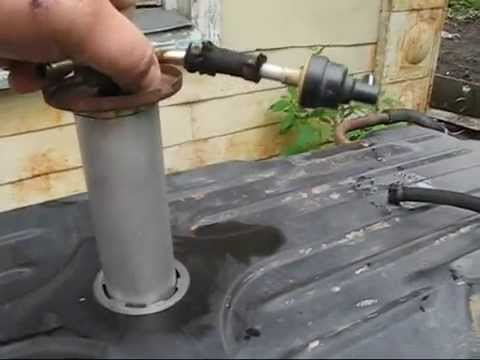 ремонт датчика топлива мерседес