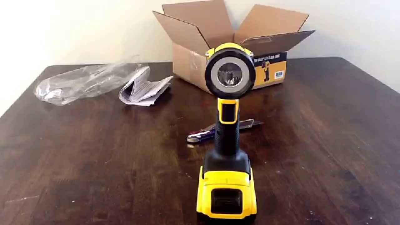 Unboxing And First Impressions Dewalt 20v Max Led