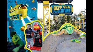 NEW LEGO deep sea adventure ride | Legoland California submarine ride