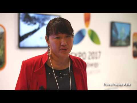 Kazakhstan Tourism Update   Interview at JATA Travel Expo 2016