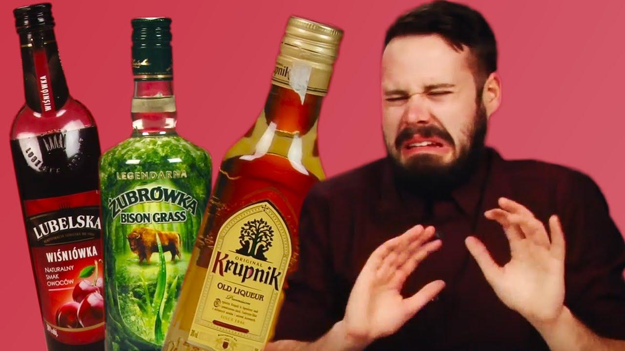 irish people taste test polish alcohol youtube