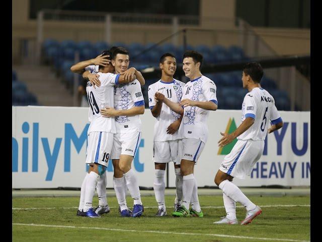 Video: U19 Australia vs U19 Uzbekistan