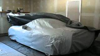 How to properly store your car for winter storage,plus custom car cover.mp4