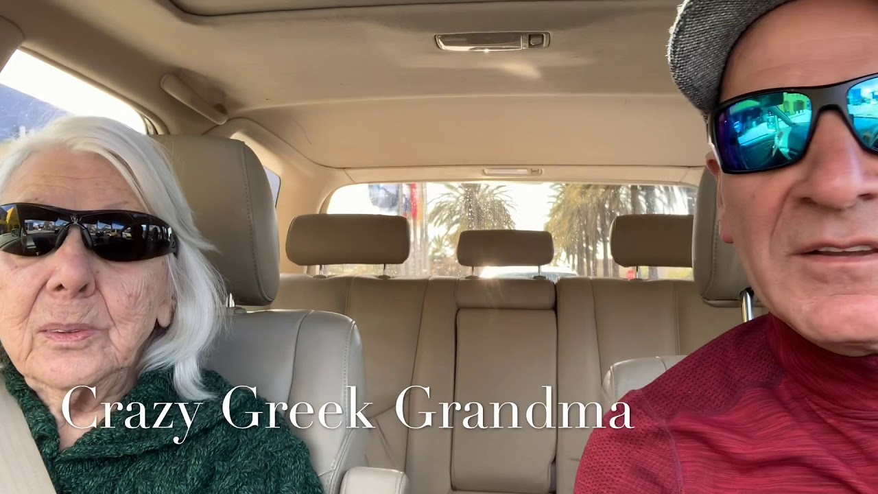 Crazy Greek Grandma I Want A Hotdog Youtube