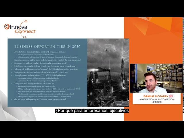 InnovaConnect: Danilo McGarry, Líder mundial en automatización
