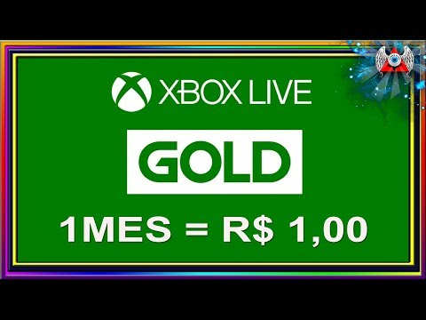 Xbox Live Gold - Compre 1 mês e pague R$ 1 Real • (nº1061)