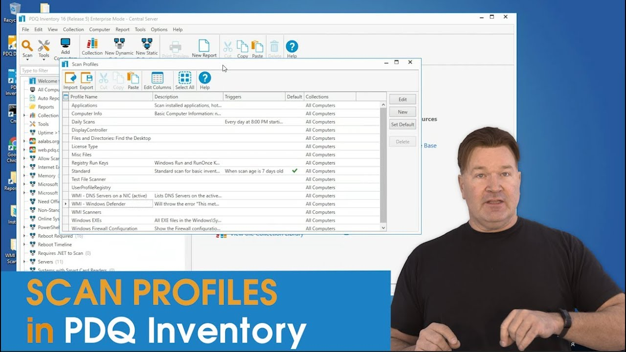 Scan Profiles in PDQ Inventory