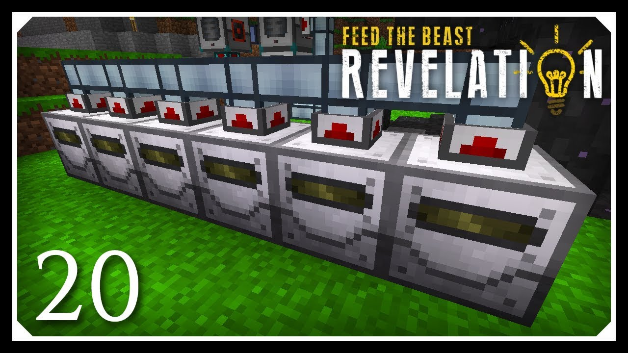 How To Play FTB Revelation | Material Stonework Factory! | E20 Modded  Minecraft For Beginners