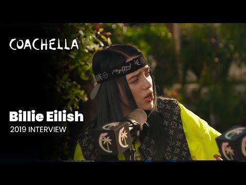 Coachella 2019 Week 1 Billie Eilish Interview