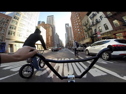 DailyCruise 6: The Snow Finally Melted (NYC BMX)