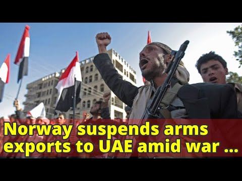 Norway suspends arms exports to UAE amid war in Yemen