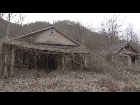 Jewell Valley, Virginia - Appalachian Ghost Town (raw footage clip, no narration)