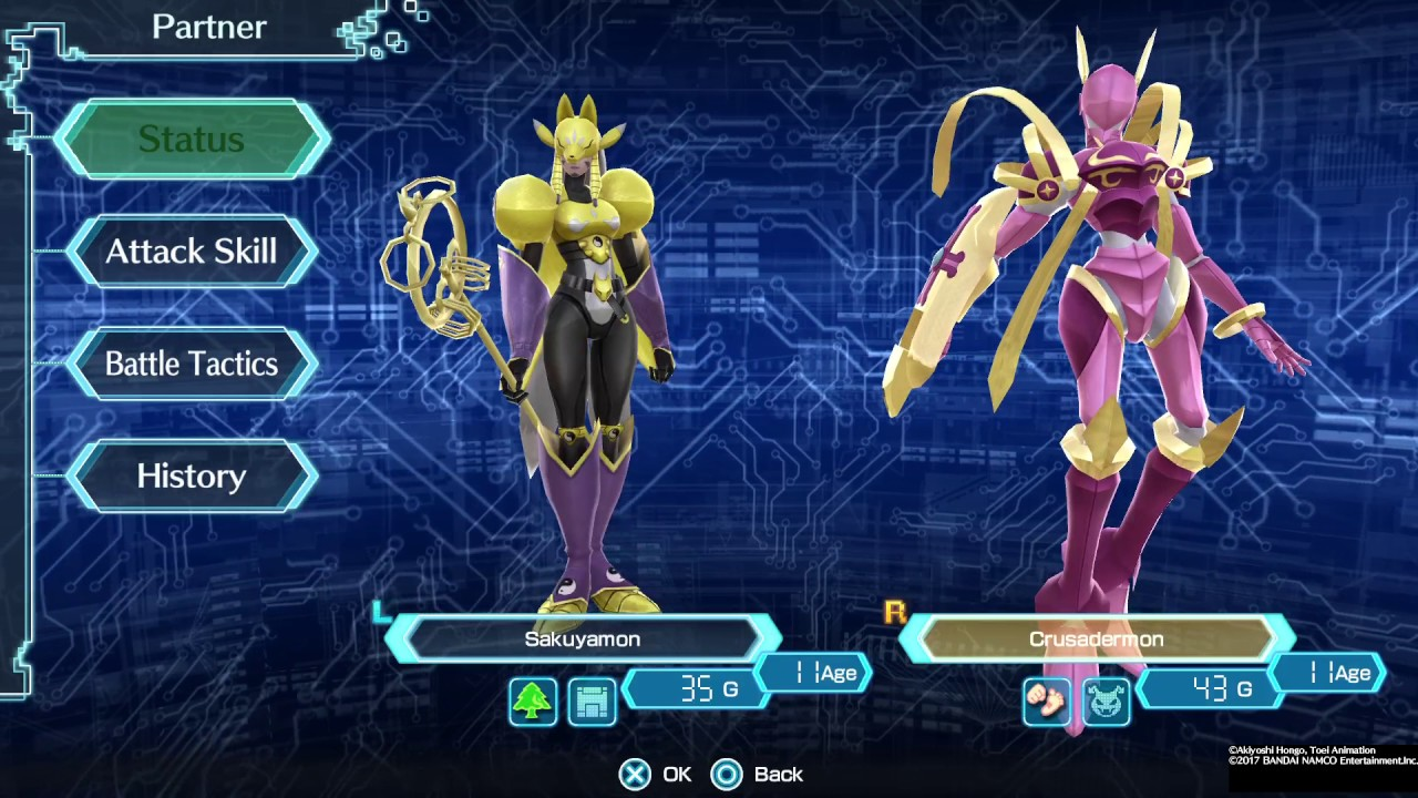 Digimon World: Next Order Sakuyamon Crusadermon - YouTube Sakuyamon Digimon World 3