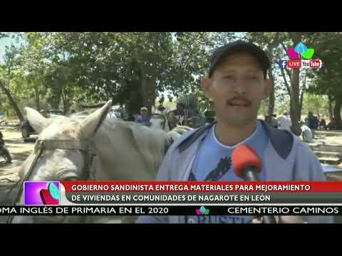 Entregan Materiales Para Mejoramiento De Viviendas En Comunidades De Nagarote