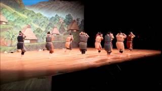 創作八重山舞踊から與那國久枝八重山のおどり稽古道場「やすら」一場面