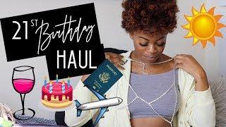 HUGE 21st Birthday Haul: How I Got The Best Online Deals!