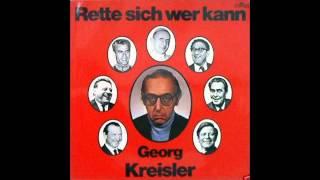 Georg Kreisler - Trau keiner Melodie über dreißig - Rette sich wer kann