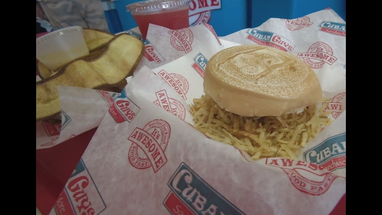 Florida Travel: Your Guide to Cuban Fritas in Miami