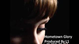 INSTRUMENTAL Adele Hometown Glory Hip Hop Remix (Produced By L1 The Producer)