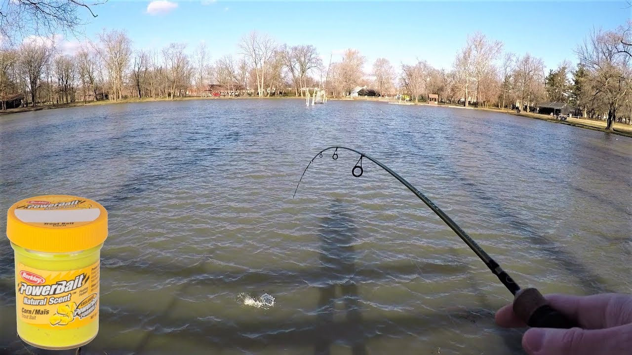 TROUT Fishing TIPS - Trout Fishing with POWERBAIT