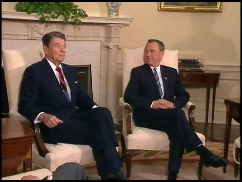 President Reagan's Meetings with General Secretary Grosz of Hungary on July 27, 1988