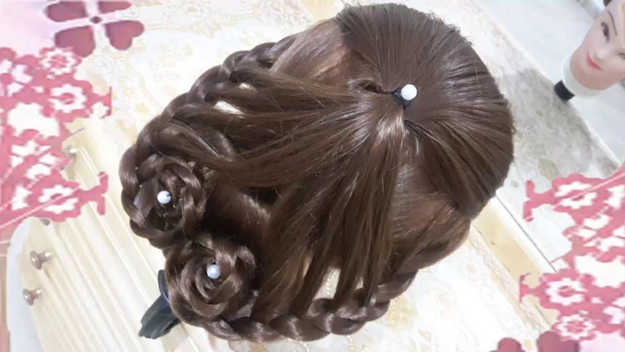 Peinados faciles para d a de san valent n rapidos y - Ideas para peinar cabello largo ...