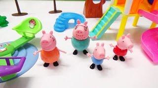 Kids Video - Peppa Pig Building Park