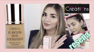 base flawless stay foundation de beauty creations | Giovanna Espinoza