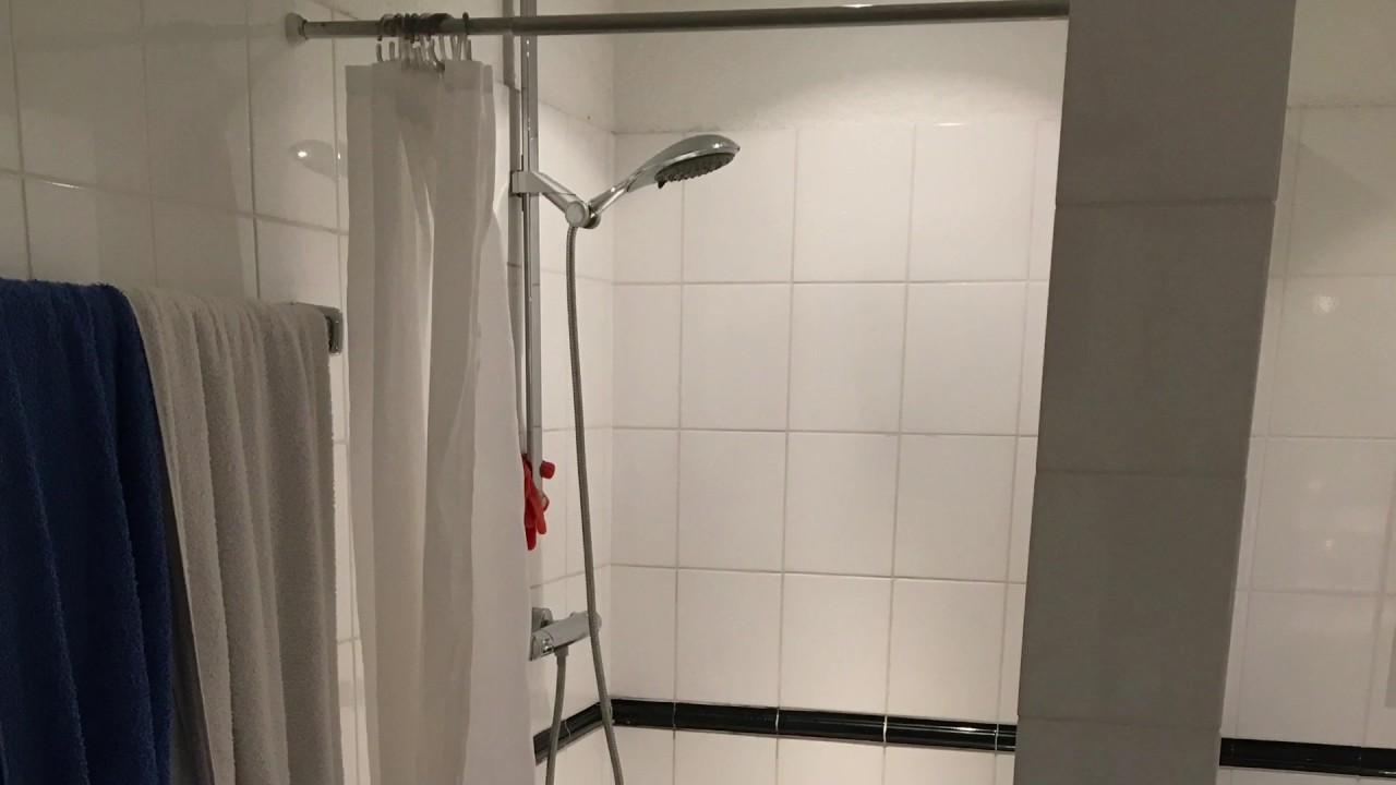 sanierung einer dusche mit acrylglasplatten von duscholux - youtube