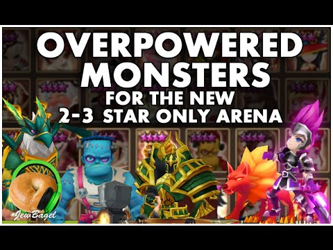 SUMMONERS WAR : Overpowered Monsters the new 2-3 star Arena