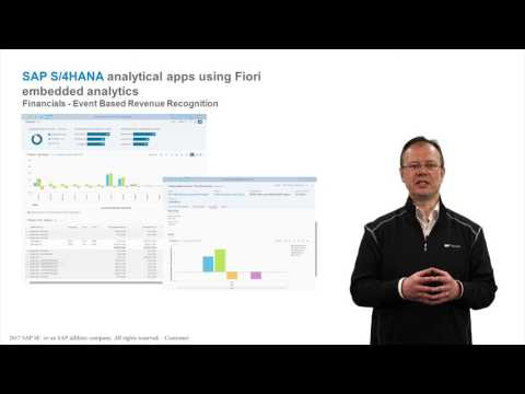 SAP S/4HANA Cloud 1702 Update on embedded analytics – ON AIR with Thomas Fleckenstein