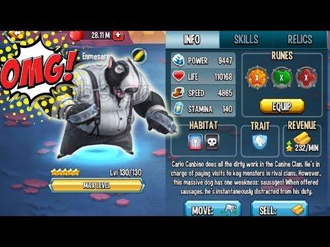 Monster Legends - Carlo Canbino leve 130 vs Igursus review combat