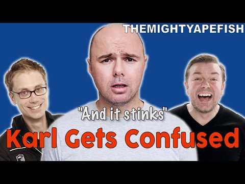 Karl Pilkington Gets CONFUSED Compilation!