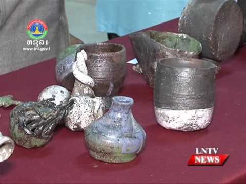 Lao NEWS on LNTV: Annual workshop exchanges lessons between Lao and Thai artists.10/1/2017