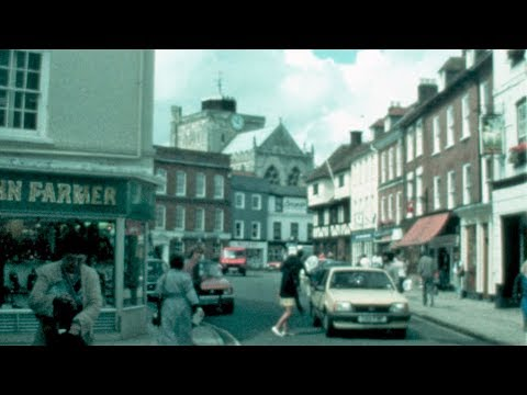 1986: Romsey, The Market, Town Centre And Abbey.