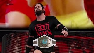"WWE 2K15 Bad News Barrett ""2015"" Attire, Entrance, Signature, Finisher Community Creations (PS4)"