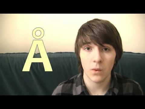 Swedish with Steve! Episode 15: The Swedish alphabet