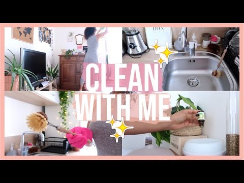CLEAN WITH ME | MA ROUTINE MÉNAGE AU NATUREL 🌿✨