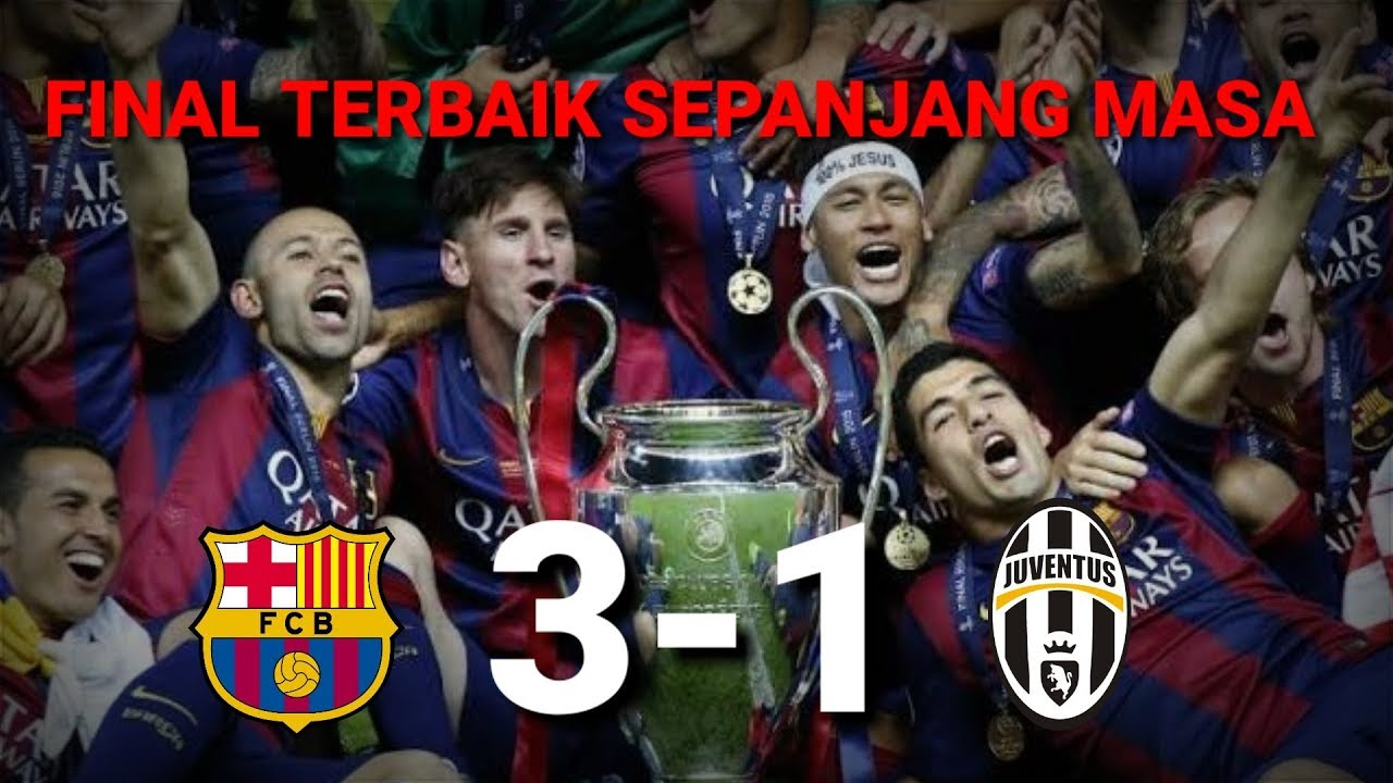 Highlight final BARCELONA VS JUVENTUS - YouTube