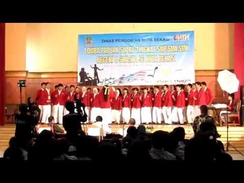 Etniez Choir - Mars Kota bekasi & Manuk Dadali