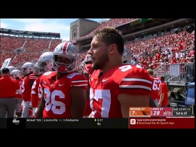 Nick Bosa Highlights vs  Oregon State 2018  Nick Bosa sddefault