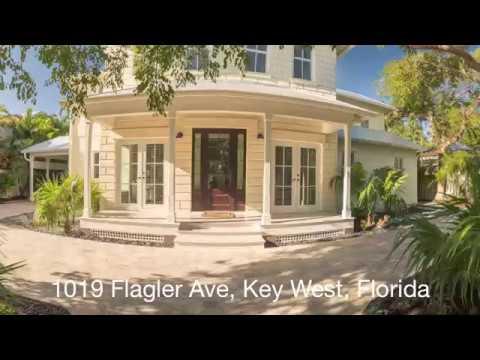 Key West's Finest Mansion. 1019 Flagler Avenue, Key West, Florida.