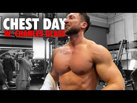 The ONLY Chest Workout You Need For MASS | Charles Glass Chest Pump!