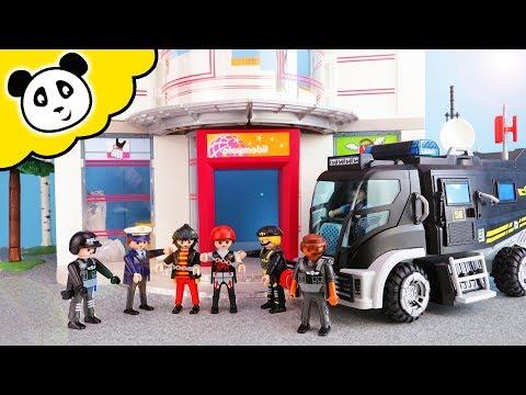 Playmobil Polizei - SEK Einsatz im Shoppingcenter - Playmobil Film