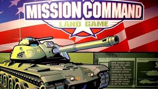 Ep 108: Mission Command Land Board Game Review (Milton Bradley 2003)