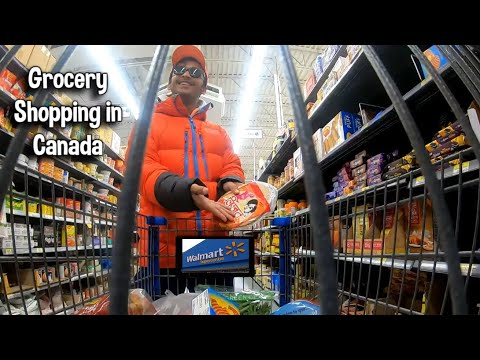 Grocery Shopping In Canada | Walmart