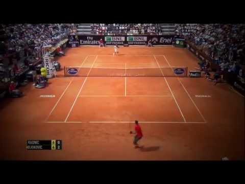 Novak Djokovic Vs Milos Raonic Rome 2014