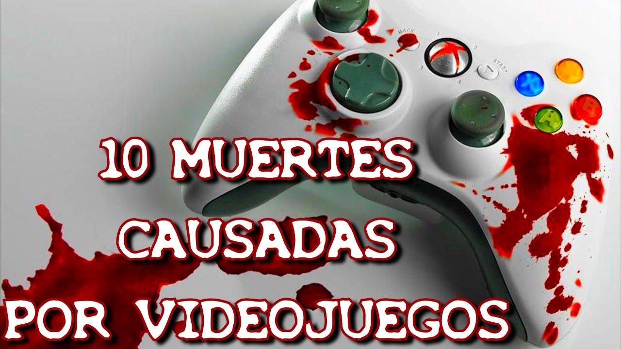 10 Muertes Causadas Por Videojuegos 8cho Youtube